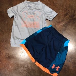 YS Under Armour Set.